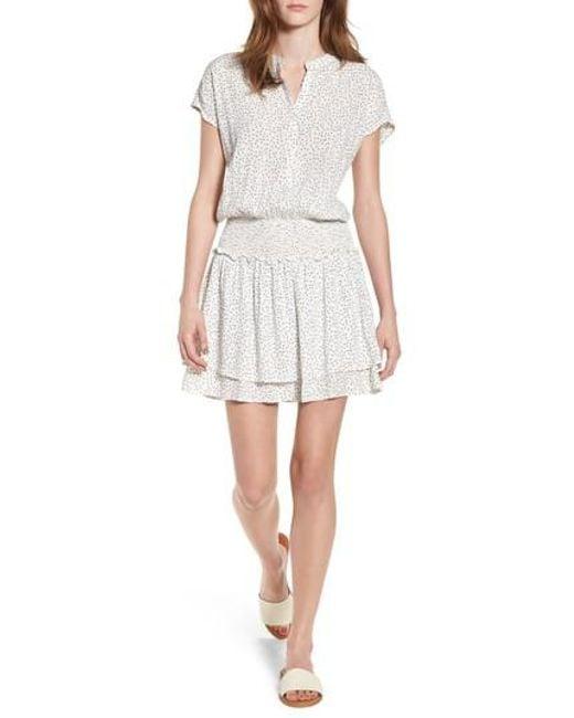 Rails - White Angelina Dress - Lyst