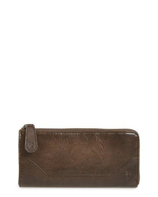 Frye | Brown Melissa Leather Wallet | Lyst