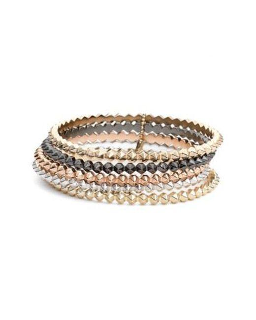 Kendra Scott - Multicolor 'remy' Stackable Bracelets (set Of 5) - Lyst