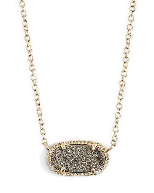 Kendra Scott Metallic Elisa Pendant Necklace