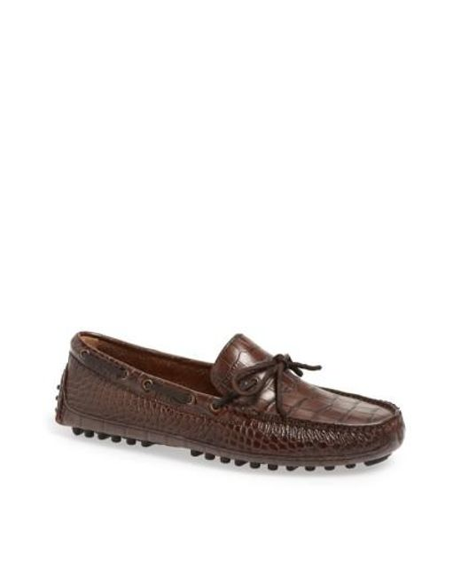 Cole Haan | Brown 'grant Canoe Camp' Driving Moccasin for Men | Lyst