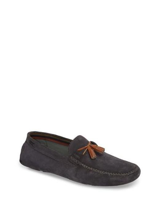 Urbonns Suede Drivers In Navy - Navy Ted Baker 0O2fwyg