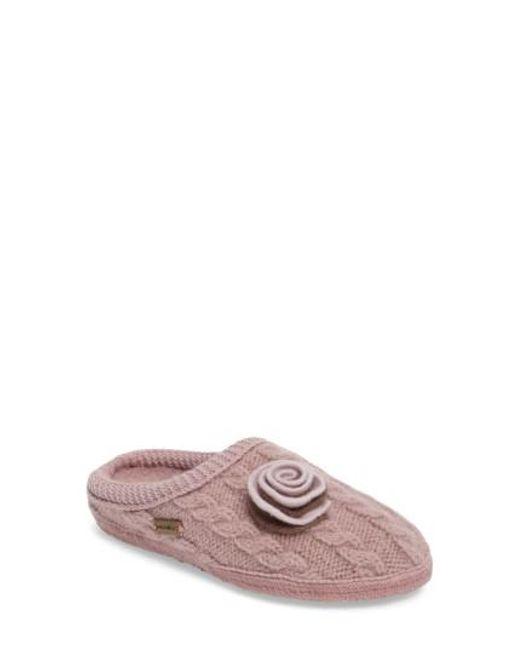 Haflinger | Pink Jewel Slipper | Lyst
