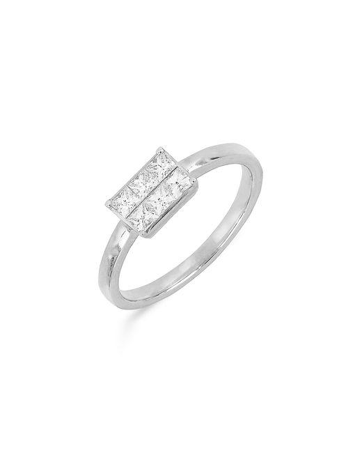 Bony Levy Metallic Princess Diamond Ring (nordstrom Exclusive)