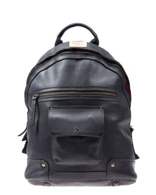Will Leather Goods | Black 'silas' Backpack for Men | Lyst