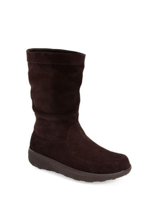 Fitflop - Brown (tm) 'loaff' Slouchy Boot - Lyst