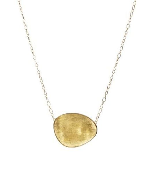 Marco Bicego - Metallic Lunaria Pendant Necklace - Lyst