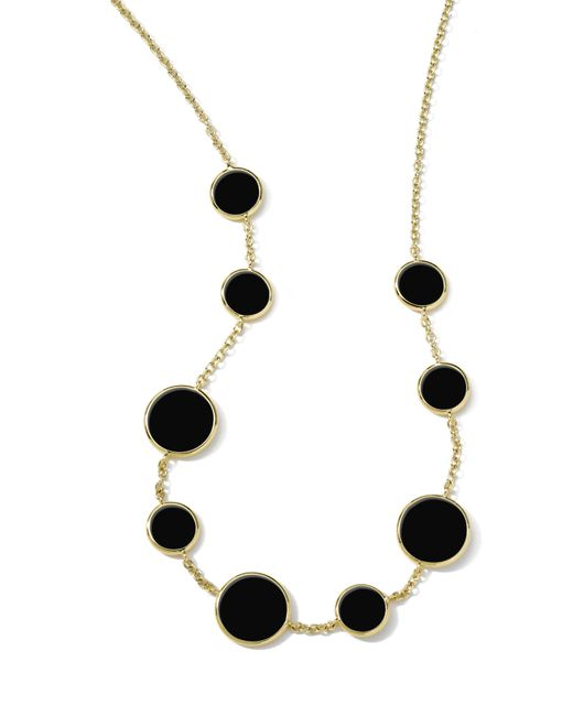 Ippolita Metallic Rock Candy Frontal Necklace
