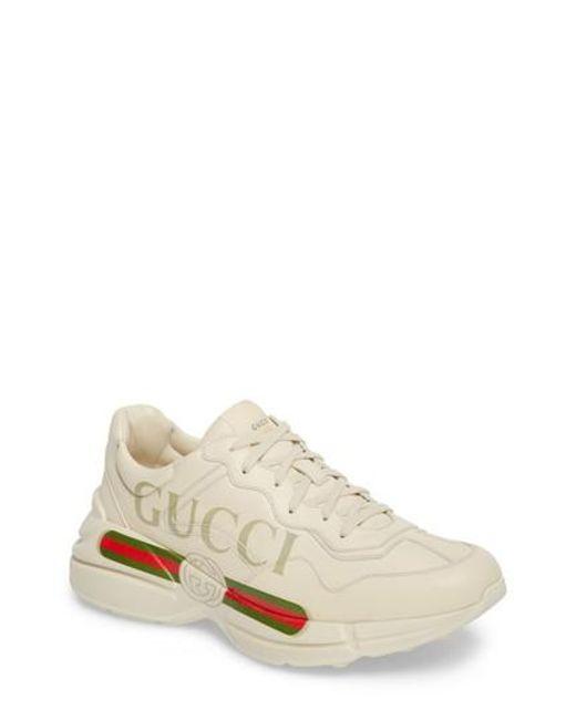Y5wQzxooT8 Gara Print Leather Sneakers abL5mCGeO