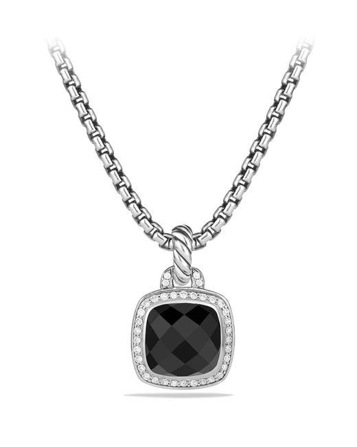 David Yurman - Metallic 'albion' Pendant And Diamonds - Lyst