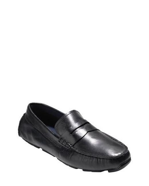 Cole Haan | Black Kelson Driving Shoe for Men | Lyst