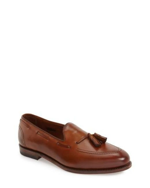 Allen Edmonds | Brown 'acheson' Tassel Loafer for Men | Lyst
