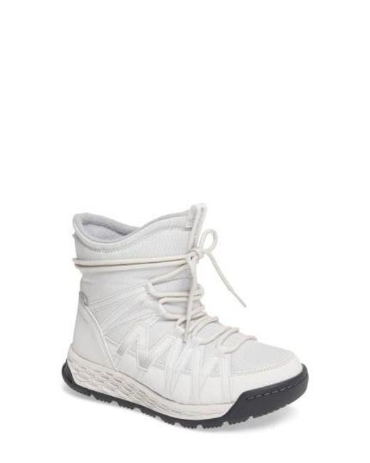 New Balance - White Q416 Weatherproof Snow Boot - Lyst