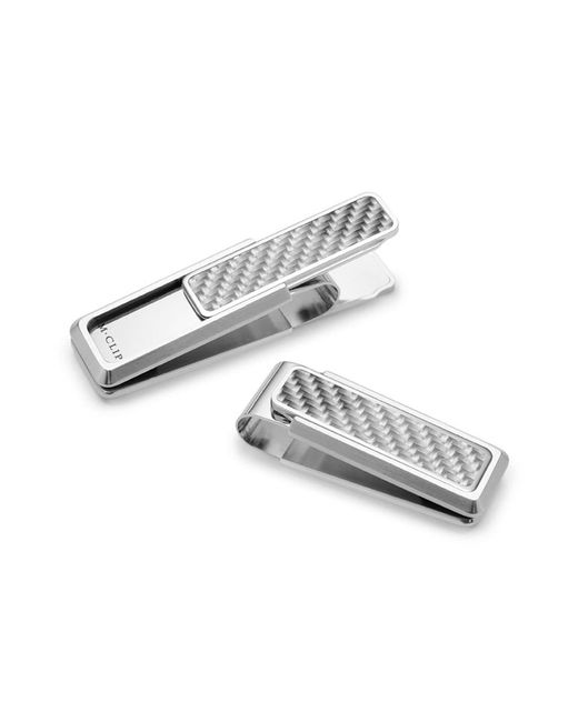 M-clip Metallic M-clip 'discovery Line' Stainless Steel Money Clip for men
