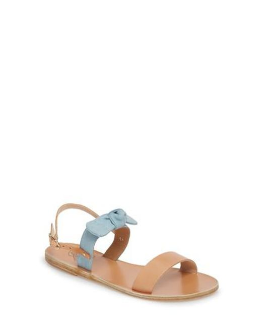 Ancient Greek Sandals Clio Bow polka-dot sandals Quality Free Shipping Low Price Exclusive Cheap Online Sale Ebay Free Shipping Footlocker Finishline wsW2y