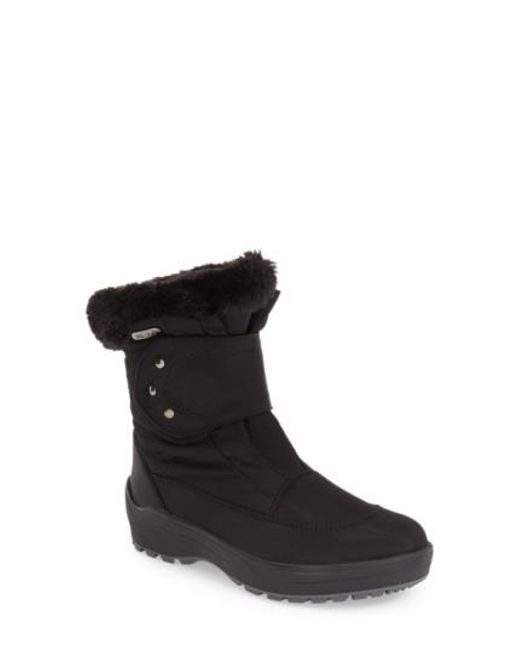 Pajar | Black Shoes 'moscou' Snow Boot | Lyst