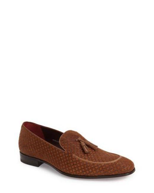 Mezlan | Brown 'carol' Tassel Loafer for Men | Lyst