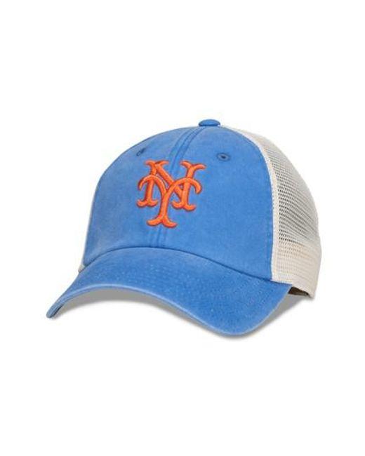 American Needle | Blue New School Mlb Trucker Hat for Men | Lyst