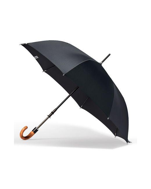 Shedrain - Black Stratus Auto Open Stick Umbrella - Lyst