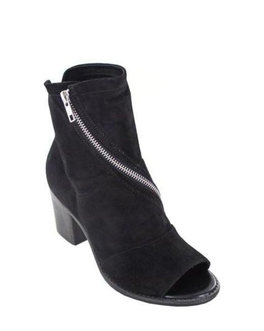 Summit   Black Fantasia Open Toe Boots   Lyst