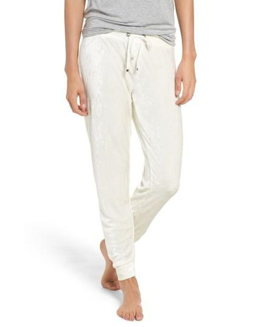 Make + Model | Multicolor Velour Skinny Sweatpants | Lyst