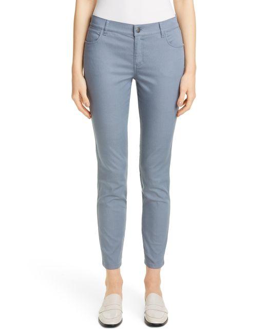 Lafayette 148 New York Blue Mercer Skinny Jeans