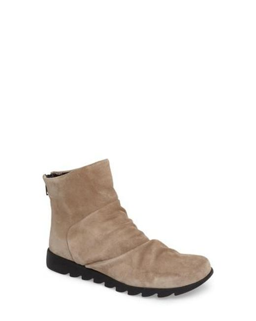 The Flexx | Brown Scrunchie Bootie | Lyst