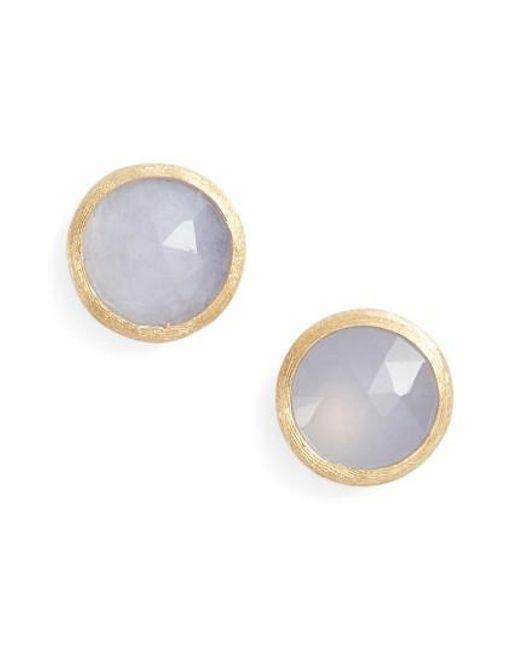 Marco Bicego | Multicolor 'jaipur' Stone Stud Earrings | Lyst