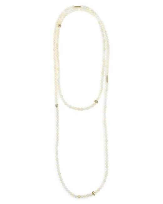 Lagos | Metallic Caviar Icon Multistrand Necklace | Lyst