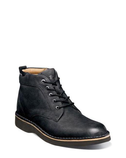Florsheim | Black Navigator Plain Toe Boot for Men | Lyst