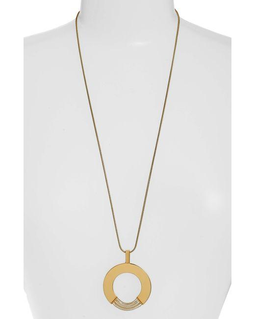 Jenny Bird - Metallic Sofia Rises Pendant Necklace - Lyst