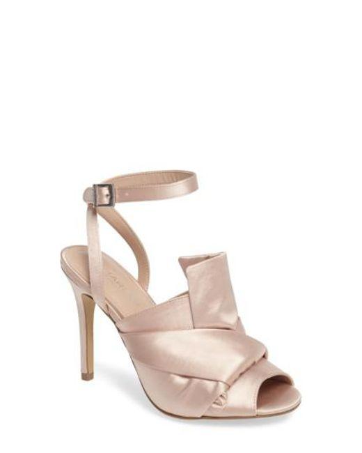 Charles David | Natural Rachel Ankle Strap Sandal | Lyst