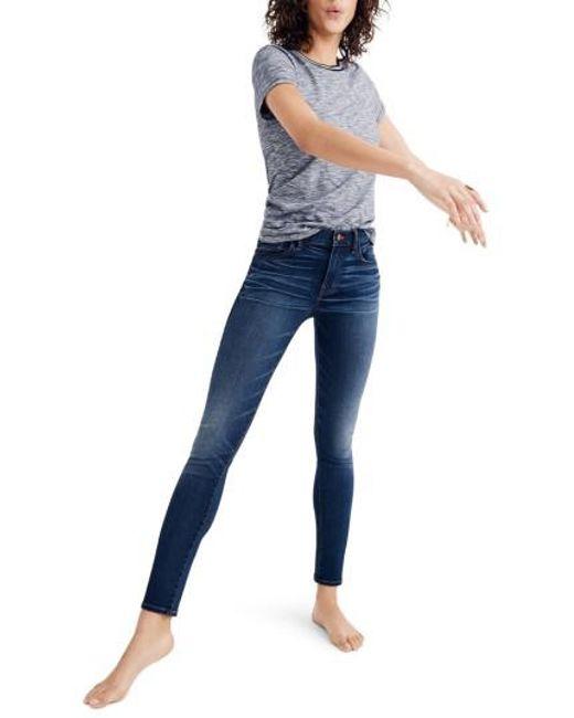 Madewell - Blue Roadtripper Skinny Jeans - Lyst