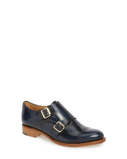 The Office Of Angela Scott - Blue Mr. Colin Double Monk Strap Shoe for Men - Lyst