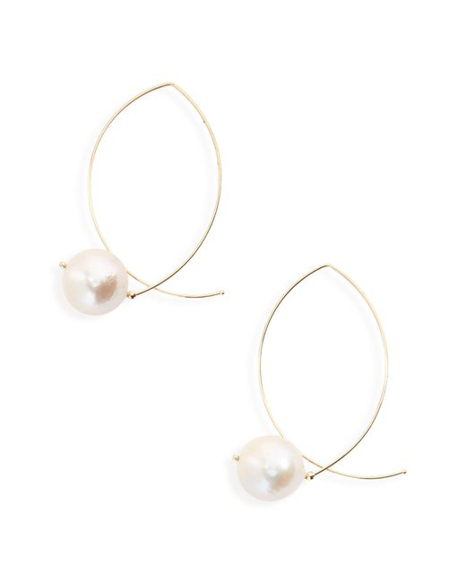 Mizuki - Metallic Sea Of Beauty Baroque Pearl Earrings - Lyst