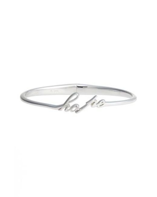 Judith Jack | Metallic To Live By Hope Hinge Bangle | Lyst
