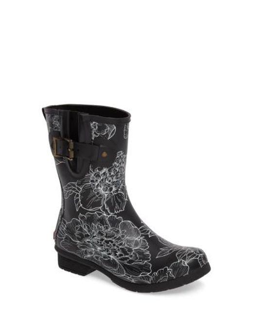 Chooka   Black Cora Mid Rain Boot   Lyst