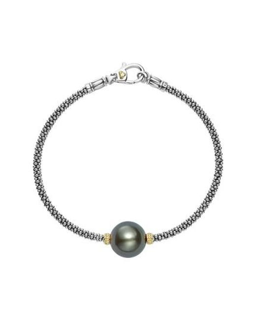 Lagos - Multicolor Luna Pearl Single Station Bracelet - Lyst