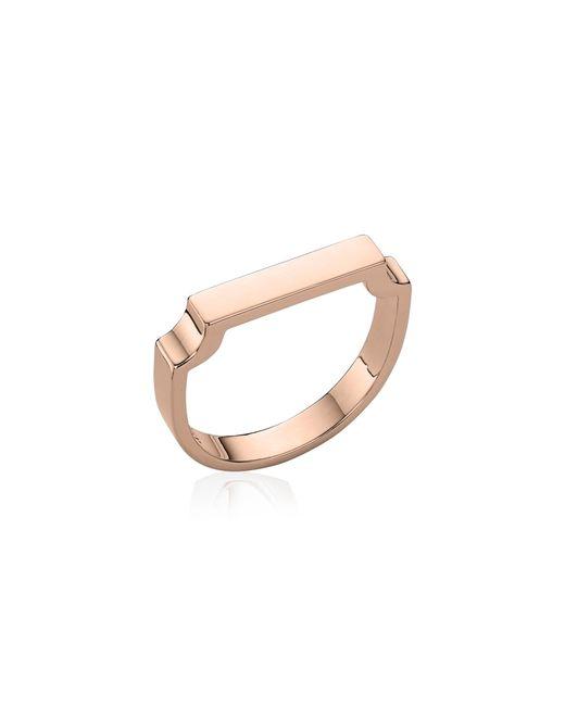 Monica Vinader Metallic Signature Ring