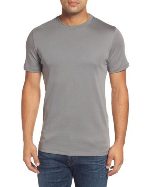 Robert Barakett | Purple 'georgia' Crewneck T-shirt for Men | Lyst