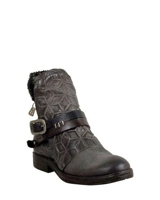 A.s.98 | Gray A.s. 98 Isha Bootie | Lyst