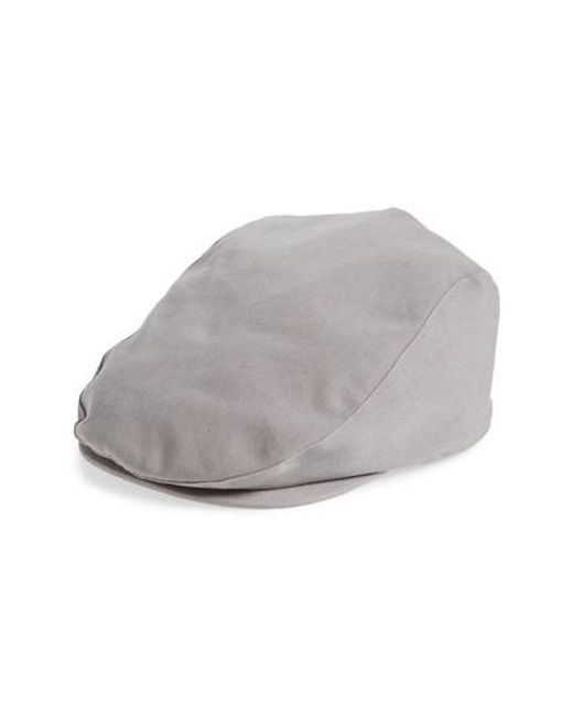 6035dc7f94e Lyst - Barbour Finnean Driving Cap in Gray for Men