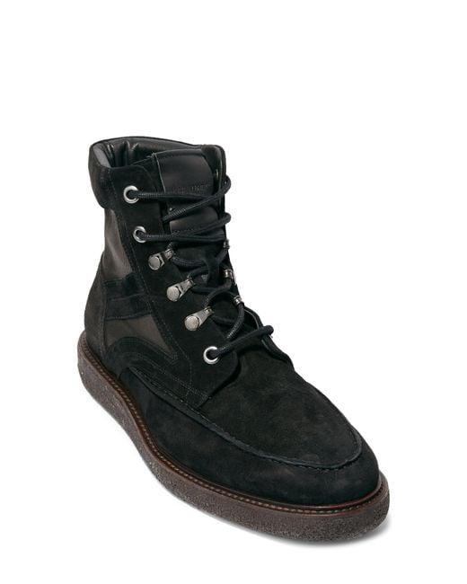 AllSaints Black Ethan Mid Boot for men