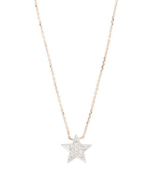 Dana Rebecca - Pink 'julianne Himiko' Diamond Star Pendant Necklace - Lyst
