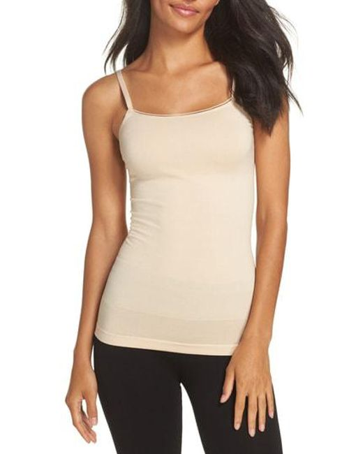 Yummie - Natural Seamlessly Shaped Convertible Camisole - Lyst