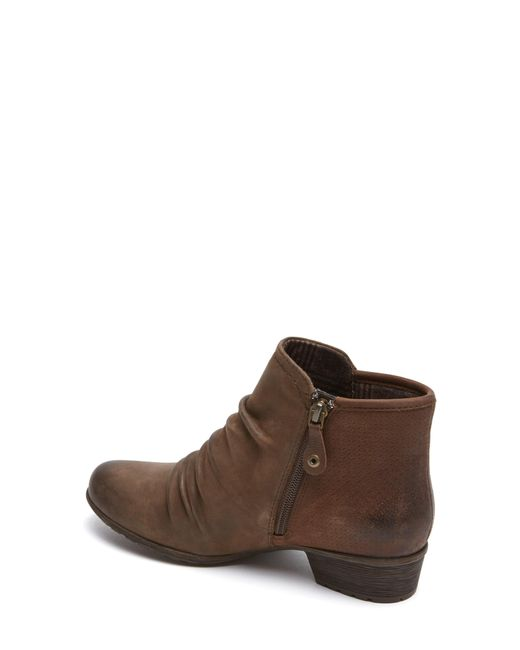 Cobb Hill - Brown Cobb Hill Gratasha Panel Bootie - Lyst