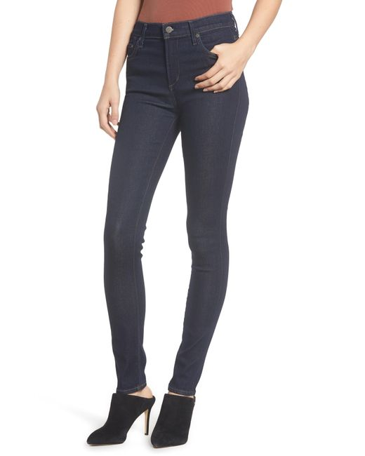 Citizens of Humanity - Blue Rocket High Waist Skinny Jeans - Lyst