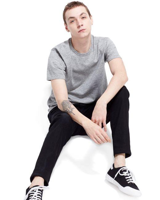 Rag & Bone Black Standard Issue Fit 1 Skinny Fit Jeans for men