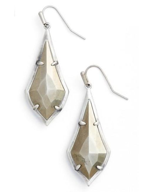 Kendra Scott | Metallic Olivia Drop Earrings | Lyst