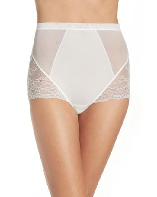 Spanx | White Spanx Spotlight On Lace Briefs | Lyst